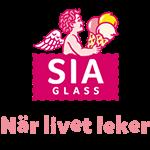 logotyp för sia glass